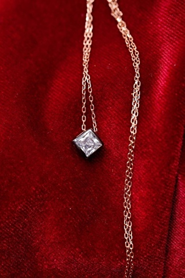 Ninova Silver Kolye Renkli